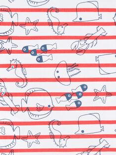 Polo de color crudo para bebé niño LUVIPOL / 21SG10U1POL001