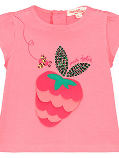 Camiseta estampada para bebé niña FIYETI / 19SG09M1TMC309