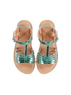 Sandalias de color turquesa JFSANDOLIT / 20SK35ZED0E202