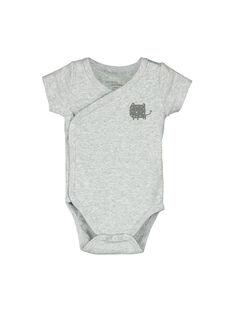 Body de manga corta para bebé unisex FOU2BOD4 / 19SF77J4BOD943