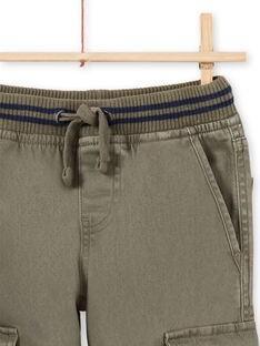 Pantalón caqui para niño MOJOPAMAT2 / 21W90224PANG631