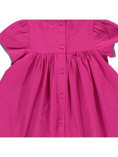 Baby girls' dress CIGAUROB2 / 18SG09L2ROB304
