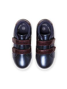 Zapatillas azul marino para niña MABASMARION / 21XK3571D3F070