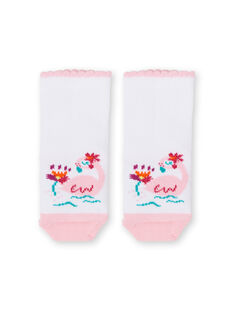 Calcetines de color rosa y blanco para bebé niña LYIBONSOQ / 21SI09W1SOQ000