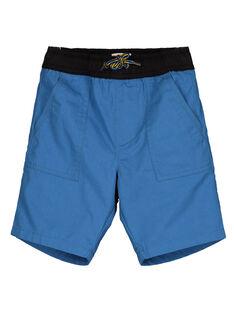 Bermudas de sarga de color azul vivo GOBLEBER / 19W90292BERC232