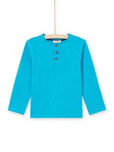 Camiseta turquesa para niño MOJOTUN3 / 21W90211TMLC211