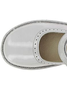 Girls' leather Mary-Janes CFBABPERF2 / 18SK35W8D3I940