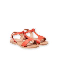 Sandalias de color naranja para niña LFSANDMADDIE / 21KK3551D0E400