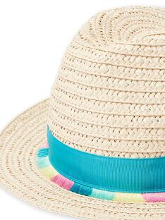 Sombrero de rafia para niña LYAVERHAT / 21SI01Q1CHA009