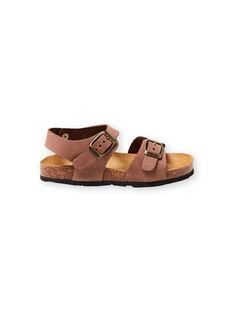 Sandalias marrones para niño LGNUMARRON / 21KK3657D0E802