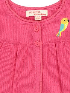 Cárdigan-bolero de lana para bebé niña FICACAR1 / 19SG09D1CAR302