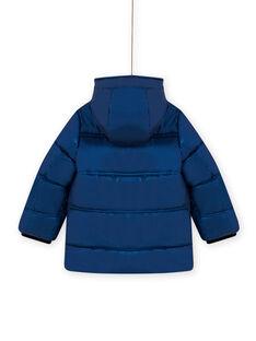 Anorak azul metalizado para niño MOGRODOU3 / 21W90262D3E717