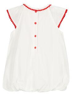 Vestido abombado bordado para bebé niña FITOROB2 / 19SG09L2ROB000