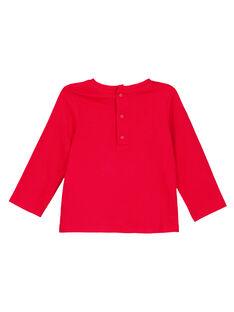 Camiseta Manga larga Rojo Du Pareil Au Meme GISANTEE2 / 19WG09C1TML050