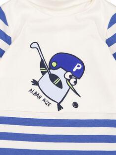Jersey de punto fino de rayas para bebé niño GUBLASOUP / 19WG10S1SPL001
