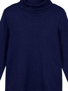 Jersey fino de canalé Azul marino GOESSOU2 / 19W902U4D3B070