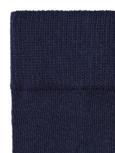 Leotardos de color azul marino para bebé niña LYIESCOL9 / 21SI0962COL070