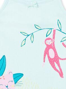 Camisón azul para niña LEFACHURAG / 21SH11C2CHN219
