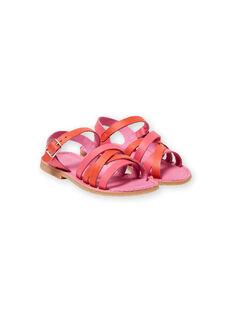Sandalias de color rosa para niña LFSANDCLARA / 21KK3552D0E304