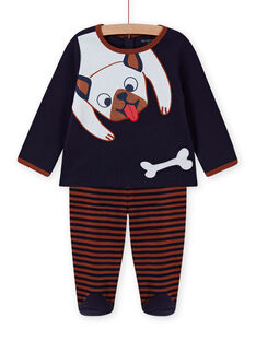 Pijama con estampado de perro para bebé niño MEGAPYJDOG / 21WH1481PYJC205