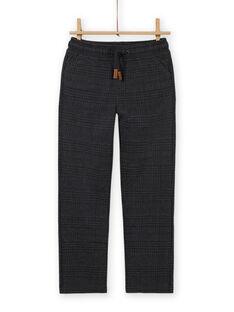 Pantalón milano gris antracita para niño MOTUPAN1 / 21W902K1PAN944