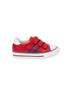 Zapatillas rojas y azules para niño JGBASLIAGR / 20SK36Y2D3F050