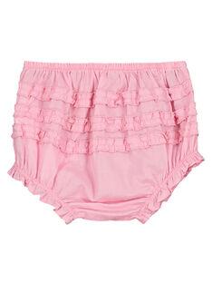 Cubrepañal de color rosa para bebé niña FIJOBLOO7 / 19SG09G2BLRD303