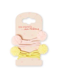 Pack de 2 gomas para el pelo para niña LYAJAUELA / 21SI0175ELA307