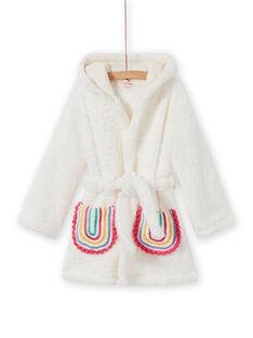 Bata de llama y arcoíris de sherpa para niña MEFAROBLAM / 21WH1191RDC001