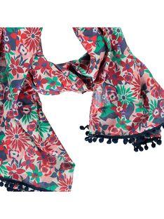 Girls' scarf CYADEFOUL / 18SI01F1FOU099