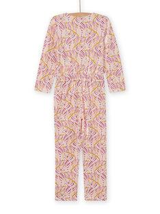 Mono de pijama con estampado de fantasía para niña MEFACOMBZEB / 21WH1181D4FD322
