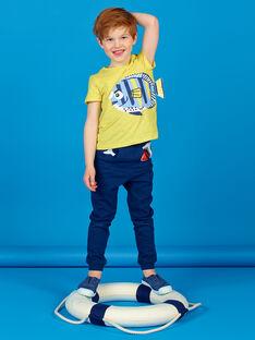 Camiseta amarilla con estampado en 3D - Niño LONAUTI2 / 21S902P3TMCB102