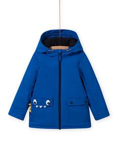 Impermeable azul con estampado de cocodrilo para niño MOGROIMP2 / 21W90252D59217