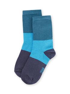 Calcetines azules para niño MYOJOCHOC4 / 21WI0216SOQ714