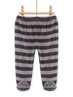 Pijama de soft boa con estampado de mapache para bebé niño MEGAPYJEUR / 21WH1491PYJ001