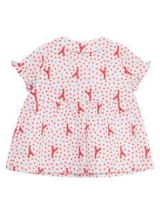 Camisa estampada para bebé niña JICEACHEM / 20SG09N1CHE000