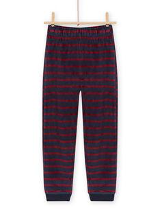 Pijama con estampado de monstruo con detalles fosforescentes para niño MEGOPYJMON / 21WH129APYJ719