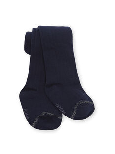 Leotardos de color azul marino para bebé niña KYIESCOL2 / 20WI0983COL070