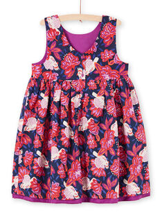 Vestido sin mangas reversible para niña MAPAROB1 / 21W901H1ROBC205