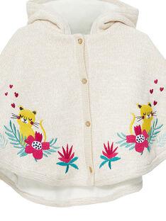 Capa de punto para bebé niña JIVICAPE / 20SG09I1CPE001