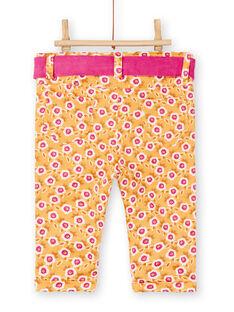 Yellow PANTS KIREPAN / 20WG09G1PAN107