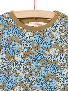 Camiseta reversible de manga larga para bebé niño MUKATEE2 / 21WG10I3TML604