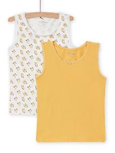 Pack de 2 camisetas de tirantes a juego para niña MEFADESAU / 21WH11C1HLI001