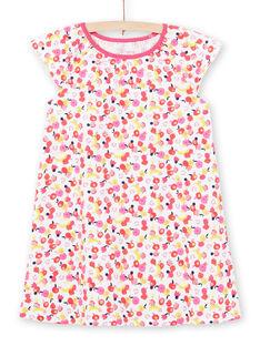 Camisón blanco para niña LEFACHUFRU / 21SH11C1CHN000