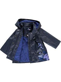Baby girls' hooded parka CIKLEPARKA / 18SG09D1PAR070
