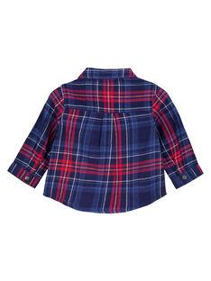 Camisa de color azul marino GUTRICHEM / 19WG10J1CHM070