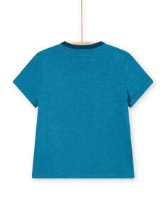 Camiseta azul para niño LOVERTI5 / 21S902Q3TMC715