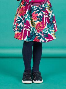 Falda reversible con estampado floral para niña MATUJUP1 / 21W901K1JUPH705