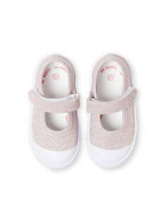 Babies rosas con brillo para bebé niña LBFBABLUREX / 21KK3742D17301