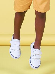 Tenis de lona lisos para niño FGVELWHITE / 19SK36C2D16000
